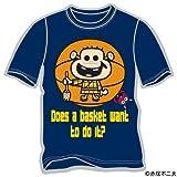 Sports Authority 【パンソンワークス×スポーツオーソリティ】グラフィックTシャツ 「レレレのおじさん×ウナギイヌ」 ネイビー