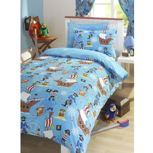 pirate bedding for kids fun fashionable home. Black Bedroom Furniture Sets. Home Design Ideas