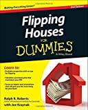 img - for Flipping Houses For Dummies 2nd edition by Roberts, Ralph R., Kraynak, Joseph (2014) Paperback book / textbook / text book