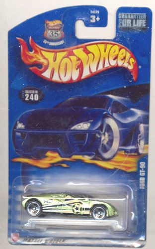 Hot Wheels 2002-240 35 Anniversary Ford GT-90 1:64 Scale