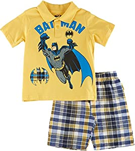 DC Comics Boys' 2pc Tee and Short Set at Gotham City Store
