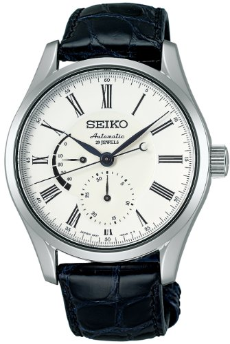 [セイコー]SEIKO 腕時計 PRESAGE プレサージュ 琺瑯ダイヤル メカニカル 自動巻 (手巻つき) カーブサファイアガラス 日常生活用強化防水 (10気圧) SARW011 メンズ