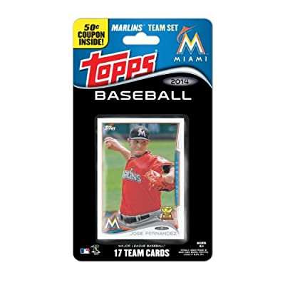 MLB Miami Marlins 2014 Team Set Trading Card