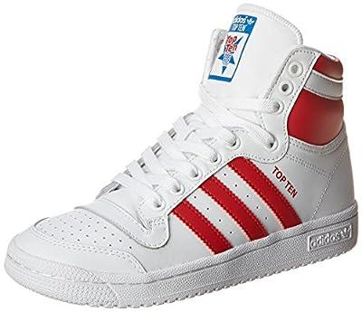 adidas Originals Top Ten Hi J Basketball Shoe (Big Kid) from adidas Originals