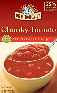 Dr. McDougall's Roasted Chunky Tomato Soup, 17.7000-ounces (Pack of6)