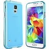 Samsung Galaxy S5 H�lle in Blau - Silikonh�lle Case Schutzh�lle Tasche f�r Galaxy S5