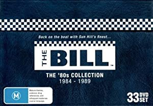 The Bill (ITV Drama Series) - The 80's Collection Box Set (DVD) 33 disc