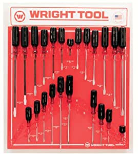 Wright Tool D974 Large Cushion-Grip Handle Screwdrivers