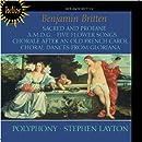Britten: Sacred and Profane