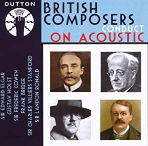 British Composers Conduct on Acoustic. Various Artists