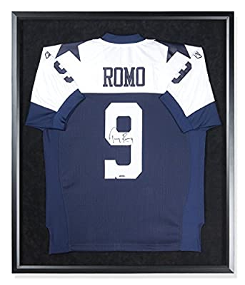 Tony Romo Signed Autographed Alternate Dallas Cowboys Jersey Custom FRAMED UDA