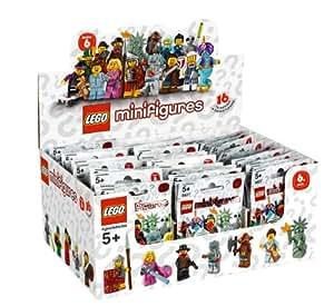 Lego Minifigures - 4648586 - Jeu de Construction - Série 6 - Boîte de 60 Sachets