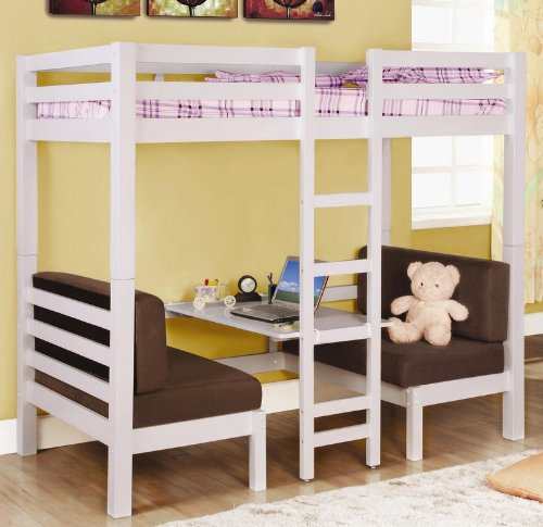 Twin Size Convertible Loft Bed