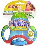 Nuby Flip N' Sip Cup - aqua/green, one size