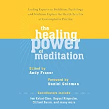 The Healing Power of Meditation: Leading Experts on Buddhism, Psychology, and Medicine Explore the Health Benefits of Contemplative Practice (       UNABRIDGED) by Andy Fraser (editor), Daniel Goleman PhD (foreward) Narrated by Roger Clark