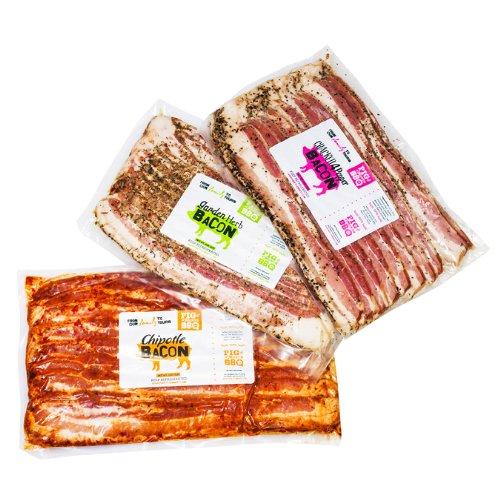 Gourmet 3Lb Bacon Lovers Feast Gift Basket