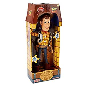 "Toy Story Pull String Woody 16"" Talking Figure - Disney Exclusive"
