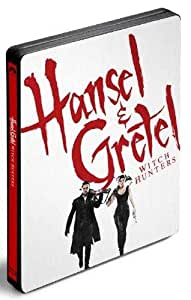 Hansel et Gretel : Witch Hunters Steelbook [Blu-ray]