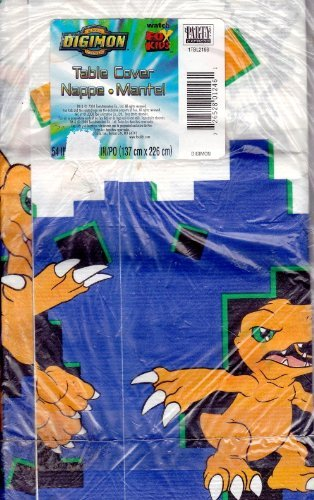Digital Digimon Monsters Paper Table Cover