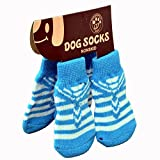 #1: PetSutra Anti Slip Dog Socks (Small)