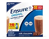 Ensure Original Nutrition Shake, Chocolate, 8-Ounce, 16 Count