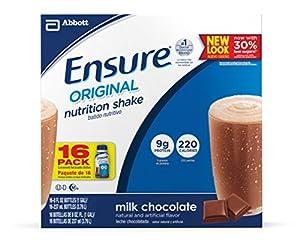 Ensure Original Nutrition Shake, Chocolate, 8-Ounce, 16 Count