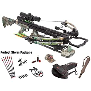 Parker X115-PS Gale Force Crossbow, Camo Finish by Parker