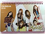Apink (エーピンク)/2016年-2017年/卓上カレンダー+ポストカード12枚(+α)セット(K-POP/韓国製)