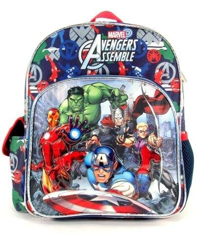 "Marvel Avengers- Toddler 12"" Backpack - Hero's Collection"