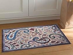 Riva Carpets PaisleyAccent Rug (Jewel)