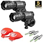 HeroBeam� Double Bike Lights Set - Th...