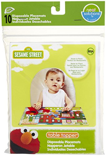 Neat Solutions Eco Table Topper - Sesame Street - 10 ct - 1