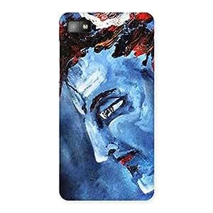 Stylish Mahadev Blue Color Print Back Case Cover for Blackberry Z10