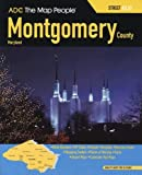img - for ADC The Map People Montgomery County, Maryland Atlas (Montgomery County (MD) Street Map Book) book / textbook / text book