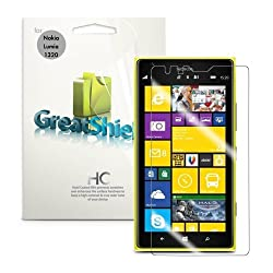 Nokia Lumia 1320 Screen Protector - GreatShield MERE Mark II Ultra Clear (HD) Screen Protector with Lifetime Replacement Warranty for Nokia Lumia 1320 - Retail Packaging (3 Pack)