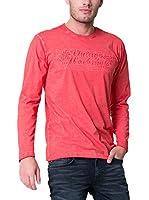 BIG STAR Camiseta Manga Corta Rapor_Ts_Ls (Rojo)