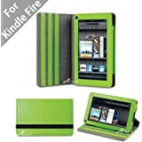 Acase Premium Micro Fiber Leather Case with built-in Stand for Kindle Fire Full Color 7