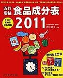 五訂増補 食品成分表〈2011〉