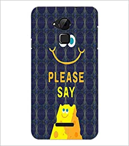 PrintDhaba Quote D-4773 Back Case Cover for COOLPAD NOTE 3 LITE (Multi-Coloured)