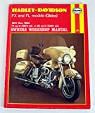 img - for Harley-Davidson FX and FL Models 1970-83 Owner's Workshop Manual book / textbook / text book