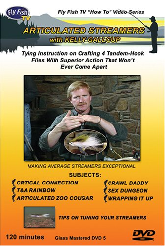 ARTICULATED STREAMERS with KELLY GALLOUP (Streamers Dvd compare prices)