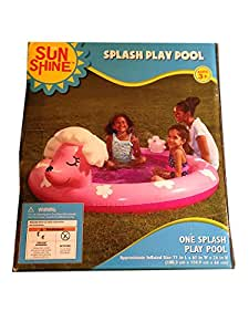 Buy Splash Play Pool Inflatable Poodle Pink Dog Online At Low Prices In India