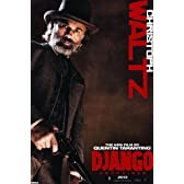 Django Unchained Christoph Waltz Poster Dr. King Schultz (61cm x 91,5cm) by Close Up [並行輸入品]