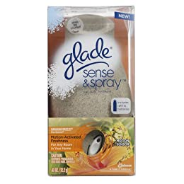 Product Image Glade Sense and Spray Starter New Design Hawaiian Breeze, 0.43 Ounce