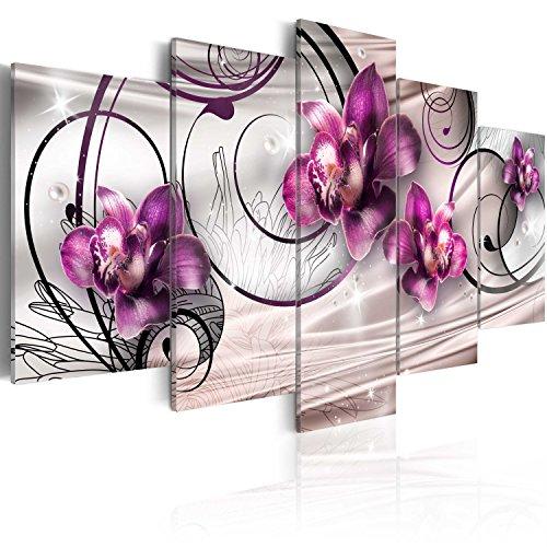 quadro 200x100 cm 5 parti quadro su tela stampa in. Black Bedroom Furniture Sets. Home Design Ideas