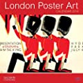 LONDON POSTER ART CALENDER 2014 (SALMON)