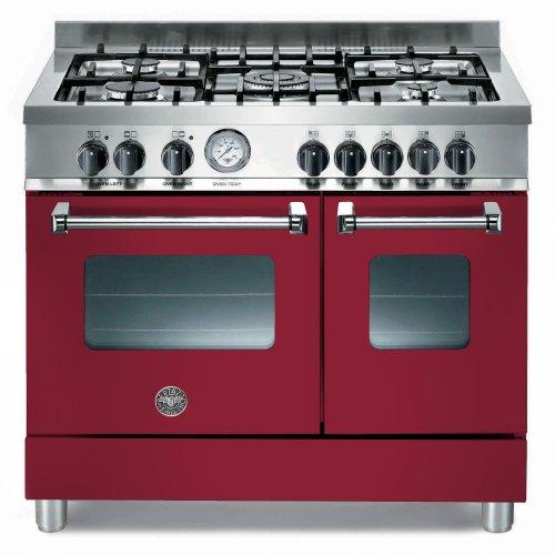 Bertazzoni AD905MFEVIE 90cm Master Dual Fuel Range Cooker Vino