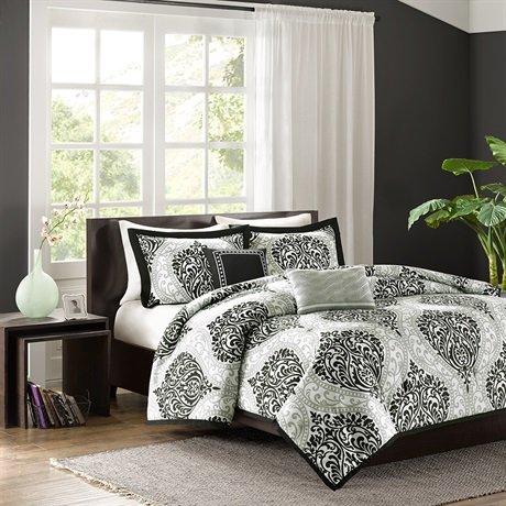 Black Queen Bedroom Set 8845 front