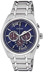 Citizen Eco-Drive Analog Blue Dial Mens Watch - CA4011-55L
