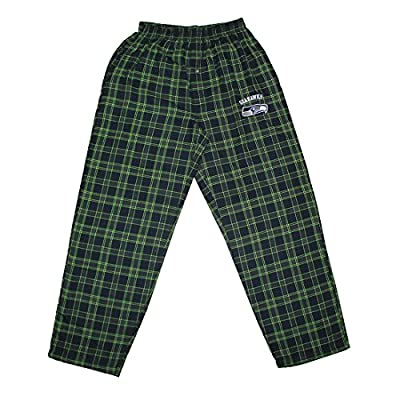 BIG & TALL NFL Seattle Seahawks MENS Plaid Pajama Pants